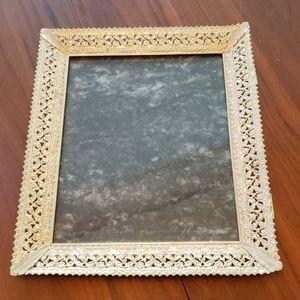 Vintage Brass Ornate Metal Frame